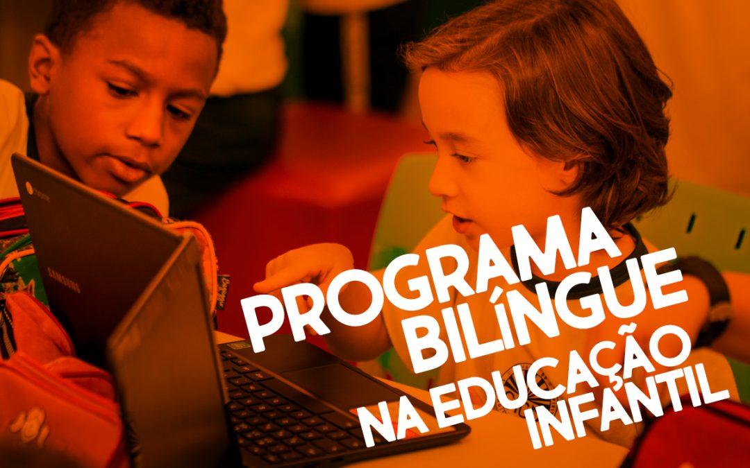 Programa bilíngue e seus benefícios na educação infantil